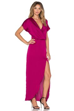 84a28db02d5 Shop for Lovers + Friends Seneca Maxi Dress in Berry at REVOLVE.