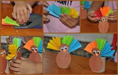 Easy DIY Thanksgiving Crafts Kids Can Make