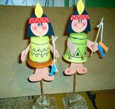 Native american crafts for kids Kids Crafts, Craft Activities For Kids, Projects For Kids, Diy For Kids, Native American Crafts, American Indians, School Spirit Crafts, Indian Birthday Parties, Wild West Party