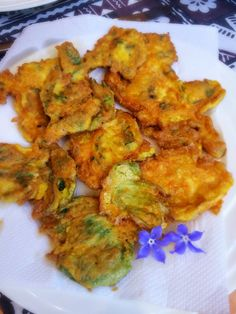 Alessandra Zecchini: Parmesan and Borage fritters: four ingredients, gluten free!