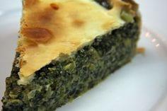 Tarta de Pollo y Zapallitos | RecetasArgentinas.net Tart Recipes, Raw Food Recipes, Sweet Recipes, Cooking Recipes, Healthy Recipes, Swiss Chard Recipes, Salty Foods, Pie Cake, Spanakopita