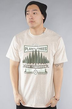 LRG  The Plant Trees Tee in Natural Heather.       Save 20% on this item and your entire order with Karmaloop repcode : Discounted. see http://karmaloopcodes.co/ for instructions on how to use this cod