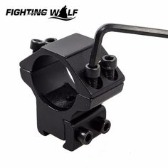 Hunting Military 25.4mm Ring 11mm Rail Dovetail Mount Fit For Laser Scope Shooting Rifle Flashlight Mount Base Gun Accessory
