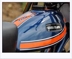 VANISHING POINT: OSSA PHANTOM 250 / MADE IN SPAIN // PLATJA D,ARO Enduro Vintage, Moto Cross, Motocross Bikes, Vanishing Point, Cars And Motorcycles, Motorbikes, Spanish, Dirt Biking, Bike Stuff