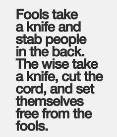 Soooo true!!! And I have cut the cord to many.