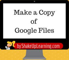 How to Make a Copy of Google Files