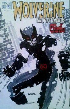 Wolverine SketchCover #comics #marvel #wolverine #logan #xmen #uncannyxmen #xforce #newxmen #sketch #sketchcover #sketchamadoodle #joelgomez