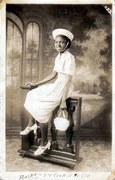 Sunday's Best | 1920s  Rensler's Photography Studio of Cincinnati, Ohio. African American vernacular photography via Black History Album.  FIND US ON TWITTER | FACEBOOK | TUMBLR | FLICKR | PINTEREST