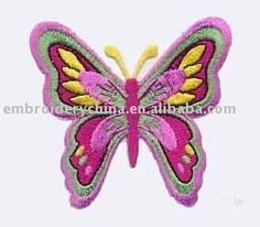 bordado mariposas - Buscar con Google