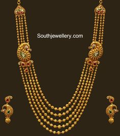 bridal jewelry for the radiant bride Gold Temple Jewellery, Gold Wedding Jewelry, Bridal Jewelry, Gold Jewelry, Gold Necklace, Mango Necklace, Stone Jewelry, Antique Jewelry, Gold Bangles Design