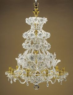 Chandelier about 1700 J. This would look pretty in my house ; French Chandelier, Antique Chandelier, Antique Lighting, Chandelier Lighting, Crystal Chandeliers, Bling, Cool Lighting, Lighting Design, Beautiful Lights
