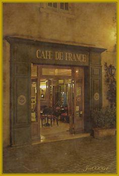 Cafe de France - St. Maxim (FRANCE)