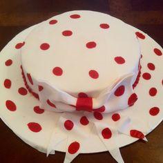 Kentucky derby hat cake