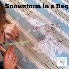 Preschool Activity- Snowstorm in a Bag - JDaniel4s Mom