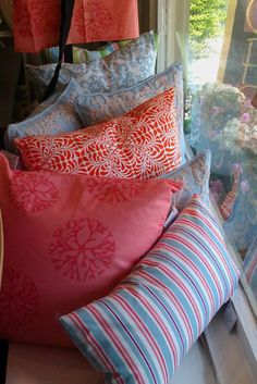 Hen House Linens Pillows