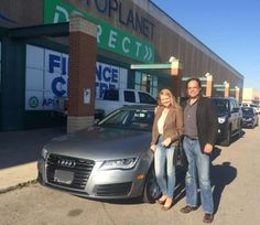 Congratulations to The Morton Family with their purchase of a 2013 Audi A7  @autopdirect! . #autopdirect #autoplanetdirect #usedcars #happy #performanceautogroup #Brampton #audi #a7  #canada #ontario #fall2016 #autoplanet