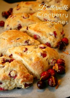 Add a personal touch using BIC Mark-It markers to make homemade recipe cards and host a goodie swap! Great idea. Love this recipe for Buttermilk Cranberry Scones.