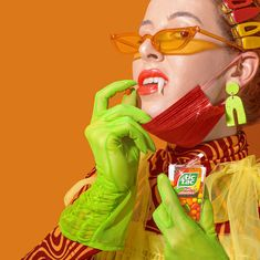 Spooky season with a Tic Tac® Fruit Adventure twist. Let everyone see your playful side this Halloween season with a delicious Tic Tac®. Buy today! 31 Days Of Halloween, Halloween Season, Diy Costumes, Halloween Costumes, Halloween Makeup, Mint Candy, Kid Character, Hey Girl, Product Label
