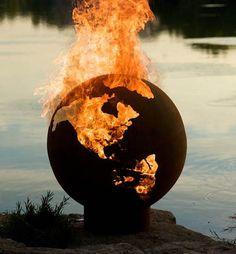 World on fire...