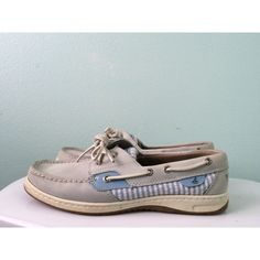 Sperry top sider boat shoes Good condition. I only wore them a couple times. Pretty light blue color Sperry Top-Sider Shoes