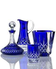 Waterford Crystal Giftware, Lismore Prestige Cobalt Collection