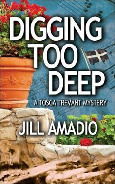 Cozy Wednesday with Jill Amadio - Author of Digging Up the Dead #Review / #Giveaway