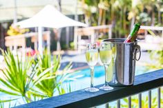 Quality Hotel Ballina, private balcony from one of our Queen rooms upstairs. Queen Room, Quality Hotel, French Press, Beach Resorts, 4 Star Hotels, Outdoor Pool, Good Night Sleep, Hotel Offers, Housekeeping