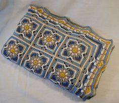 Ravelry: Baby Blanket in Overlay Crochet pattern by CAROcreated design
