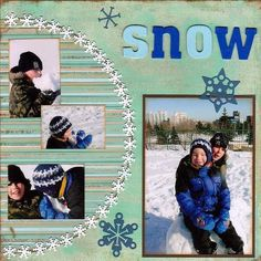 Snow Muct Fun - Two Peas in a Bucket