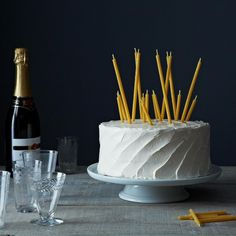 """birthday candles just got a whole lot cooler... 3"""" and 7"""" Natural Beeswax Birthday Candles, 40 Count"""