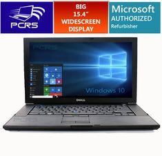 DELL LATiTUDE LAPTOP 15.4 HD Widescreen Computer Windows 10 Intel Core Duo 2GHz