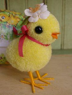 Little Pom Pom Chick by MykoBocekStudios