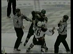 Top Ten NHL Hockey Fights of January 2013 {HD} - YouTube