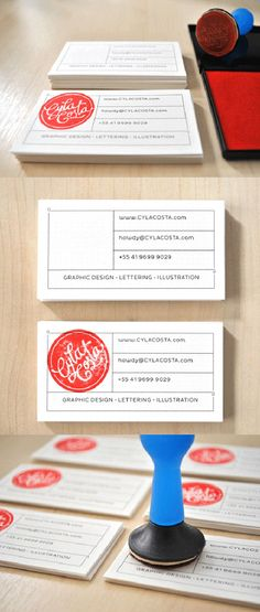Cyla Costa Good Business Card Design
