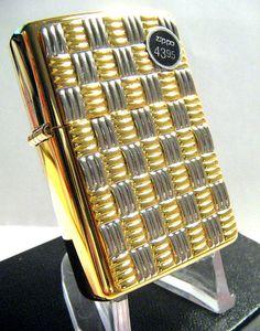 Basket Weave Zippo Lighter