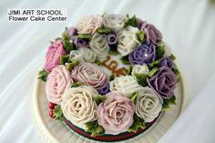 #been flower cake#flower cake#rice cake#플라워케이크#pink#앙금플라워떡케이크,cake