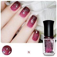 Besde New Nail Polish Thermal Nail Varnish Color Changing Peel Off Beauty (N)