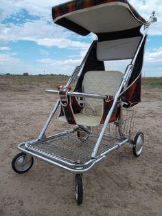 Antique Vintage Old Retro Baby Child Infant Stroller Walker Seat Carriage Buggy   eBay