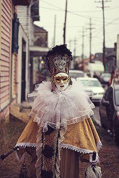 Mardi Gras Saint Anne's Parade 2013 - French Quarter, New Orleans.