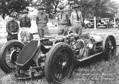 1926 Indy 500 Eldridge-Anzani W. Douglas Hawkes