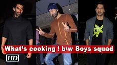 Boys squad - Ranbir, Varun & Aditya at Karan's house | What's cooking ! , http://bostondesiconnection.com/video/boys_squad_-_ranbir_varun__aditya_at_karans_house__whats_cooking_/,  #AnushkaSharma #Boyssquad-Ranbir #DeepikaPadukone #dishatigerromance #JaggaJasoos #KaranJohar #kritisaonon #mainteraboyfriend #munnamichaeltrailer #raabtamovie #ranbirkatrina #SalmanKhan #sanjayduttbiopic #ShahRukhKhan #tubelightsongs #Varun&AdityaatKaran'shouse #VarunDhawan
