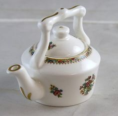 Coalport Ming Rose Miniature Tea Pot Bone china Made in England J182 | eBay