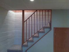 A removable stairway wall and railing makes moving - Removable swimming pool handrails ...