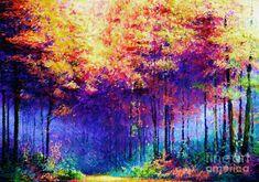 Abstract Landscape 0830a Digital Art by Rafael Salazar