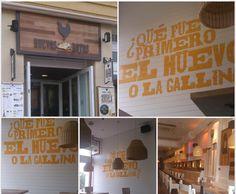 """""""Huevos Rotos"""" Texto en local de Oviedo."""