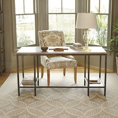 Durham desk from Ballard Designs for Master Bedroom $499