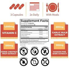 Meal Supplement, Garlic Bulb, Enhancement Pills, Daily Meals, Serving Size, Vitamin C, Facts, Knowledge
