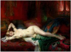 Adrien Henri Tanoux 1865-1923  Well this appeals to more salacious desires...