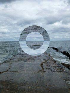 Ocean circle photo