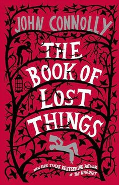 The Book of Lost Things byJohn Connolly  High in his attic bedroom, twelve-year-old David mourns the death of his mother. He is angry and alone, with only the books on his shelf for company. But those books have begun to whisper to him in the darkness, and as he takes refuge in his imagination, he finds that reality and fantasy have begun to meld. While his family falls apart around him, David is violently propelled into a land that is a strange reflection of his own world.